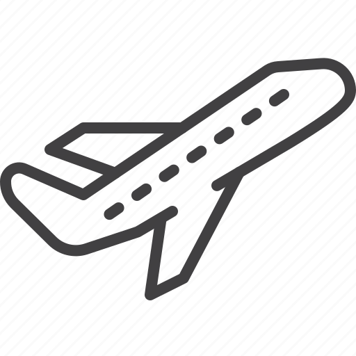 airplane, departure, plane, take off, transport icon