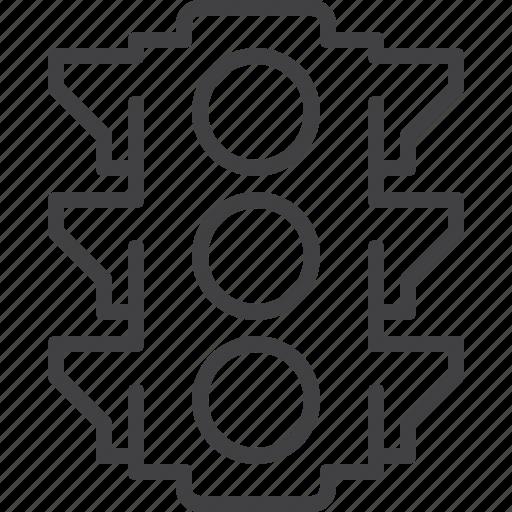 light, regulation, traffic, transport icon