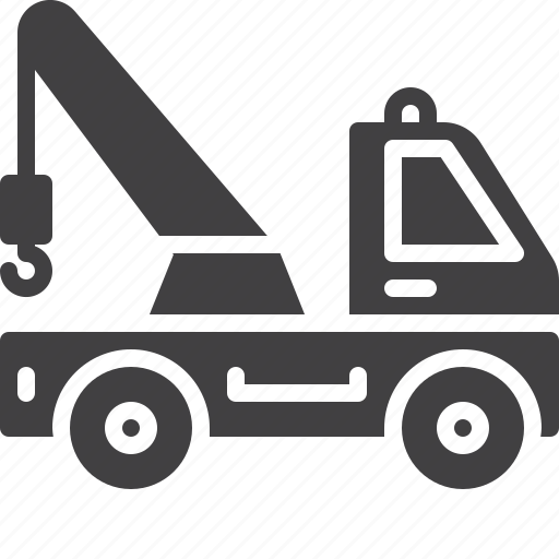 tow, transport, truck icon