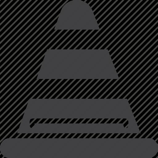 cone, road, traffic icon