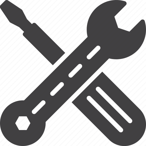 maintance, repair, service, tools icon