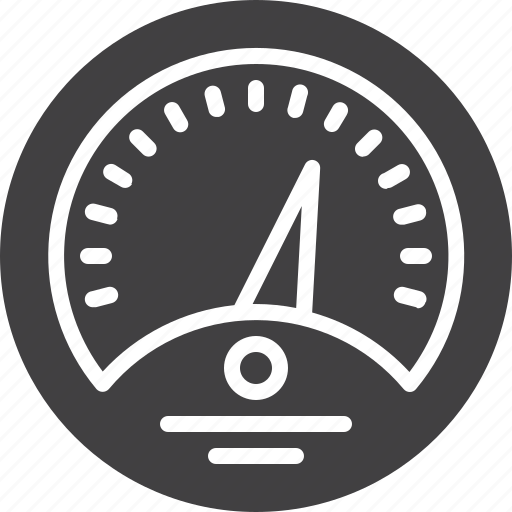 control, dashboard, gauge, speedometer icon