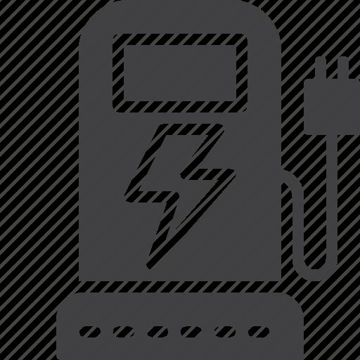 car, charging, electric, ev, station, transport icon