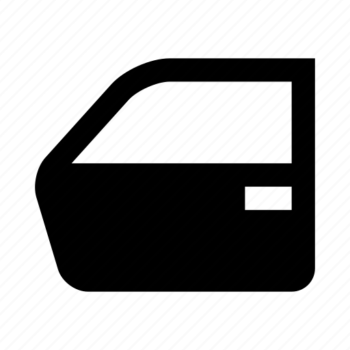 car, door, vehicle icon