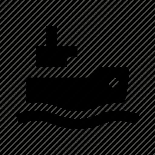 cargo, sea, ship icon