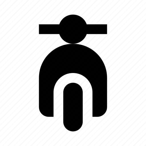 3, bike, scooter icon