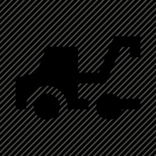 car, evacuator, tow truck, truck, wrecker icon