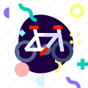 adaptive, bicycle, ios, isolated, material design, transport icon