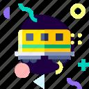adaptive, ios, isolated, material design, train, transport icon