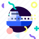 adaptive, ios, isolated, material design, transport, yatch icon