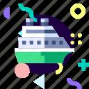 adaptive, cruise, ios, isolated, material design, transport icon