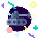 adaptive, ios, isolated, material design, military, tank, transport