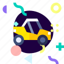 adaptive, ios, isolated, material design, transport, utv icon