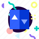 adaptive, ios, isolated, lift, material design, transport icon