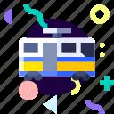 adaptive, ios, isolated, material design, tram, transport icon