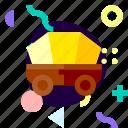 adaptive, ios, isolated, material design, transport, wagon icon