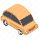 automobile, car, microcar, small car, transport icon