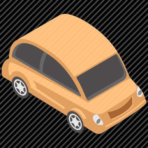 automobile, car, microcar, small car, transport icon