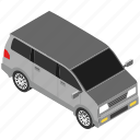 minivan, mpv, muv, transport, vehicle icon