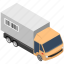 cargo, delivery van, shipment, shipping truck, transport icon