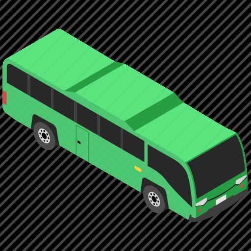 bus, motorbus, public transportation, travel, vehicle icon