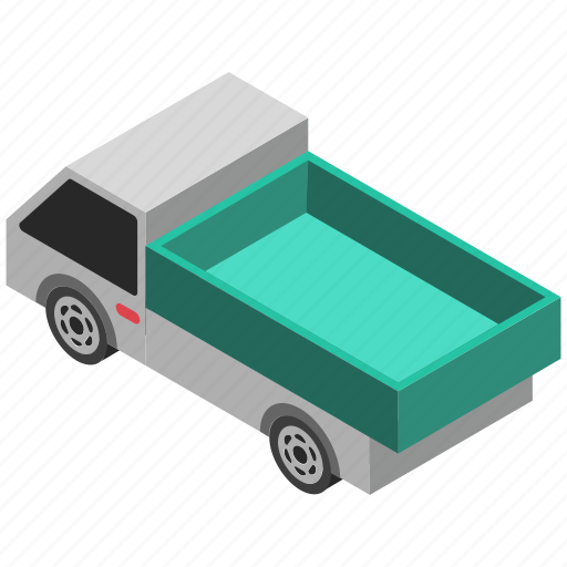 automobile, pickup, pickup truck, transport, vehicle icon