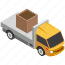 automobile, pickup, pickup truck, transport, vehicle icon