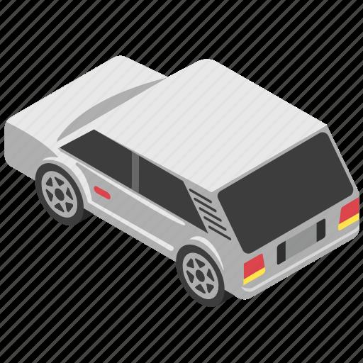 automobile, car, crossover car, sedan, transport icon
