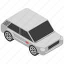 automobile, car, crossover car, sedan, transport icon