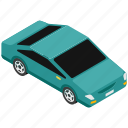 car, compact car, economy auto, economy car, economy vehicle icon