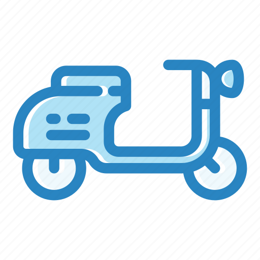 bike, city, motorcycle, scooter, transport, travel, vehicle icon