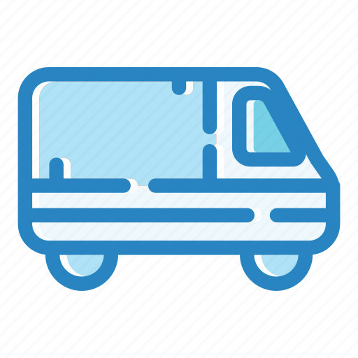 car, delivery, transport, transportation, truck, van, vehicle icon