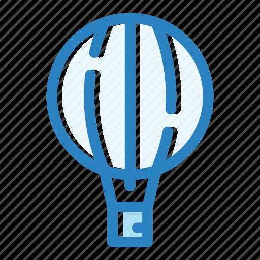 aerostat, air, balloon, fly, sky, transport, travel icon