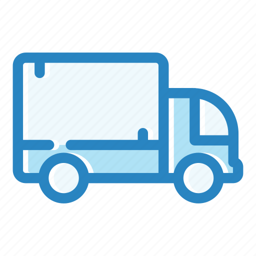 car, delivery, trailer, transport, transportation, truck, vehicle icon
