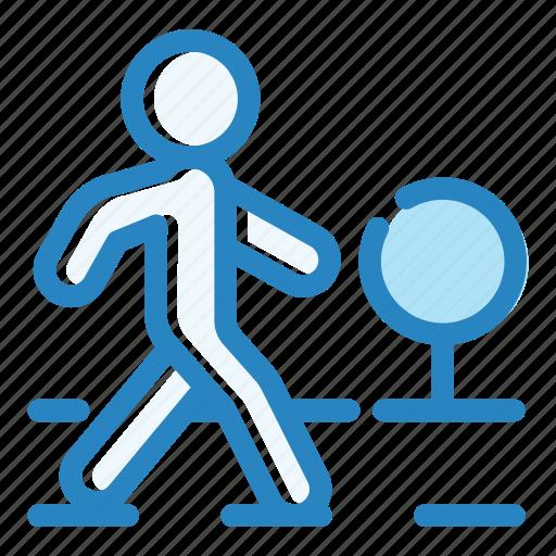 City, crosswalk, pedestrian, road, street, traffic, zebra icon - Download on Iconfinder