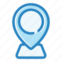 location, map, marker, navigation, pin, place, pointer icon