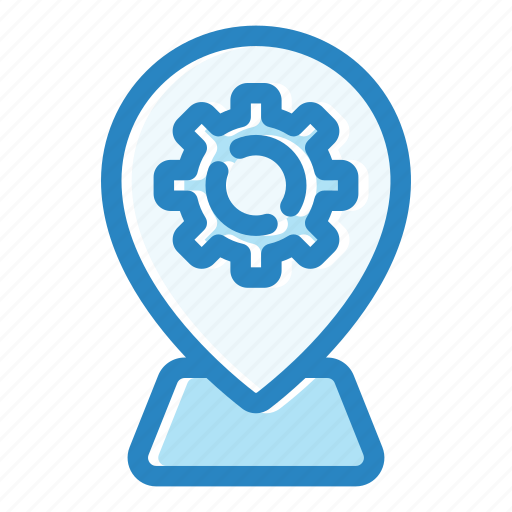 gps, location, map, navigation, pin, service, sign icon