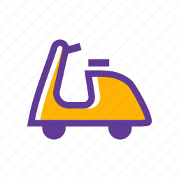 bike, delivery bike, express, moto, transport, transportation, vehicle icon