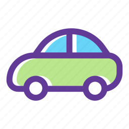 automobile, car, car rental, transport, transportation, vehicle icon