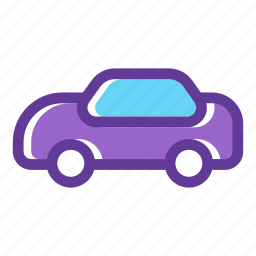 automobile, car, car rental, transport, transportation, vehicle icon