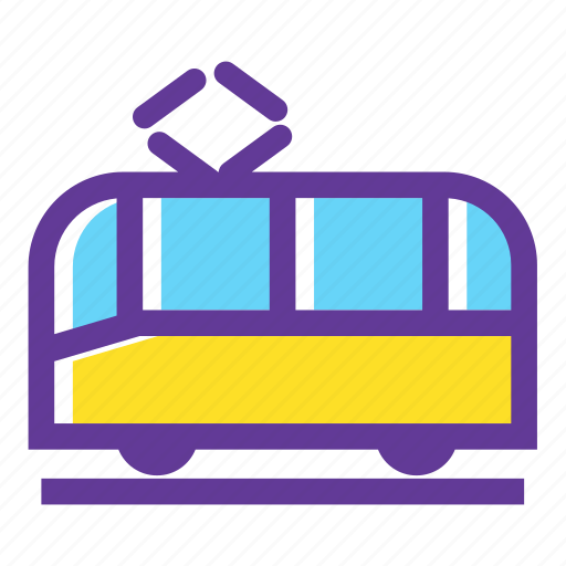 bus, transport, transportation, trolley, trolleybus, vehicle icon