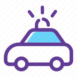 cop car, police car, police cruiser, police vehicle, transport, vehicle icon