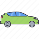 car, crossover, machine, movement, transport, transportation icon