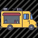 car, food, machine, movement, transport, transportation, truck