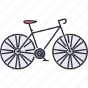 bicycle, bike, machine, movement, transport, transportation icon