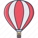 air, balloon, machine, movement, transport, transportation icon