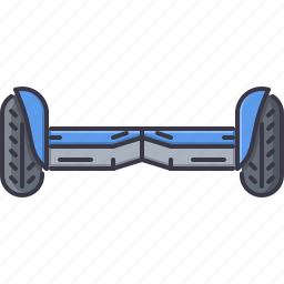 gyroscooter, machine, movement, transport, transportation icon
