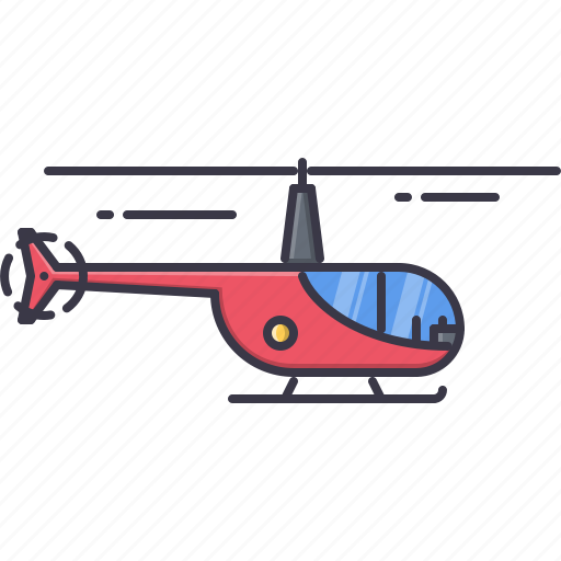 helicopter, machine, movement, transport, transportation icon