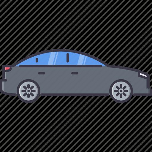 car, machine, movement, sedan, transport, transportation icon