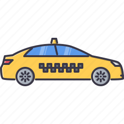 car, machine, movement, taxi, transport, transportation icon